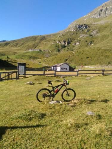 bici in valle d'aosta nel gran paradiso